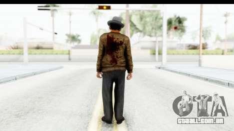 Mafia 2 - Marty Dead para GTA San Andreas terceira tela