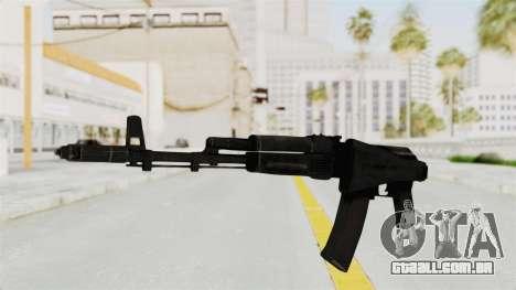 AK-74M v2 para GTA San Andreas segunda tela