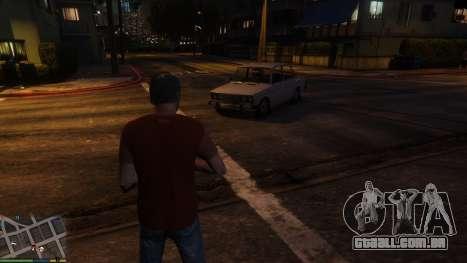 Alteração de transporte pessoal caracteres para GTA 5