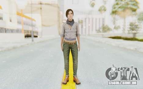 Far Cry 3 - Liza Snow para GTA San Andreas segunda tela
