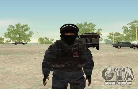 A polícia de choque-Berkut (Rússia) para GTA San Andreas