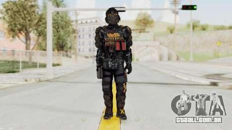 CoD Advanced Warfare KVA Heavy Soldier para GTA San Andreas segunda tela