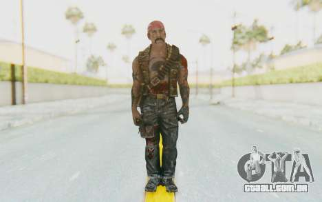 CoD BO DLC Danny Trejo para GTA San Andreas segunda tela