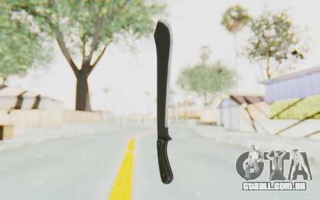 GTA 5 Vom Feuer Machete para GTA San Andreas segunda tela