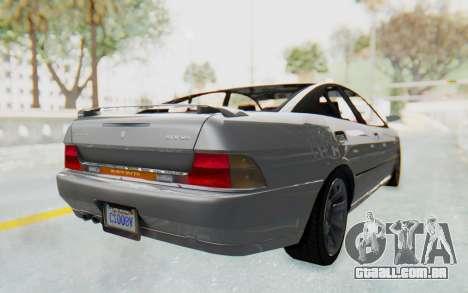 GTA 5 Imponte DF8-90 IVF para GTA San Andreas traseira esquerda vista