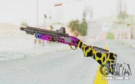 Escopeta para GTA San Andreas terceira tela