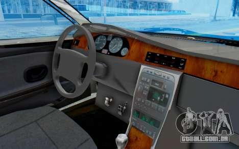 Ikco Soren Full Sport para GTA San Andreas vista interior