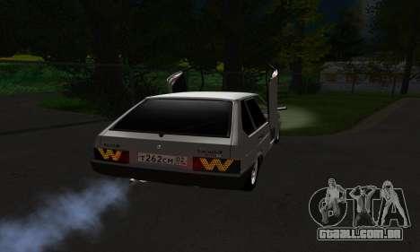2109 para vista lateral GTA San Andreas