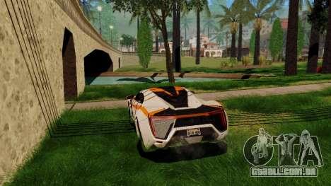 GeForce ENB para PC fraco para GTA San Andreas por diante tela