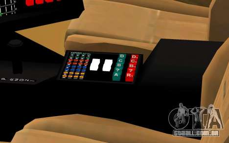 K.I.T.T. 2000 Pilot para GTA San Andreas vista direita