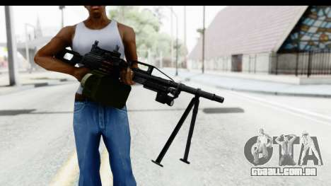 Kalashnikov PK (PKM) Iron Sights para GTA San Andreas