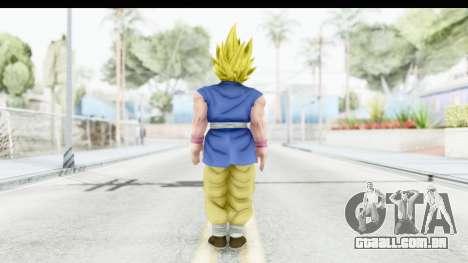 Dragon Ball Xenoverse Goku GT Adult SSJ2 para GTA San Andreas terceira tela