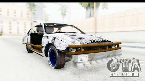 Chevrolet Caprice 2012 End Of The World para GTA San Andreas traseira esquerda vista