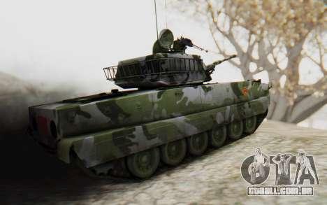 Norinco Type 63 para GTA San Andreas esquerda vista
