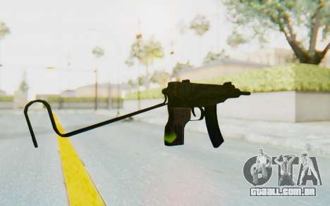 VZ-61 Skorpion Unfold Stock Tiger Stripes Camo para GTA San Andreas segunda tela