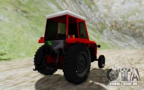 IMT 539 Deluxe para GTA San Andreas vista direita