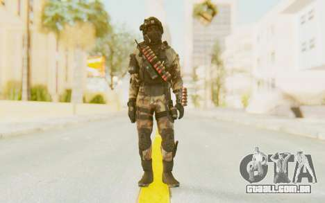 Federation Elite Shotgun Woodland-Flora para GTA San Andreas segunda tela