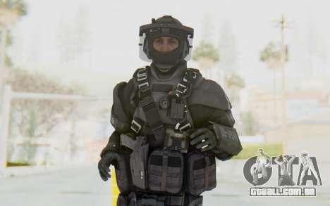 Federation Elite LMG Tactical para GTA San Andreas