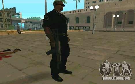 AKS-74U para GTA San Andreas