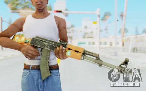 CS:GO - AK-47 Jetset para GTA San Andreas terceira tela