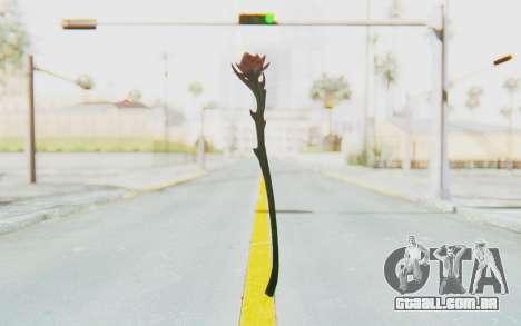 Sanguinerose Staff para GTA San Andreas segunda tela