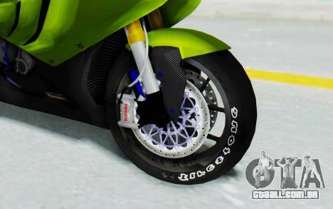 BMW S1000RR HP4 Modification para GTA San Andreas vista traseira