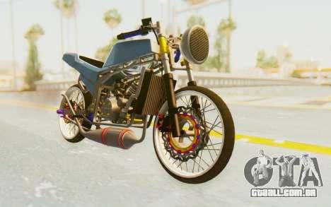 Kawasaki Ninja 150S Thailock para GTA San Andreas vista direita