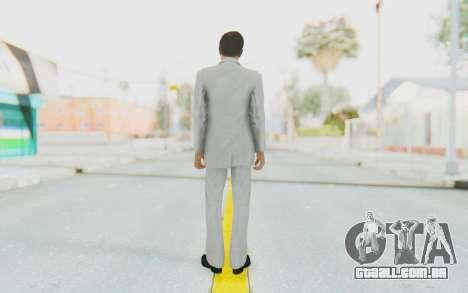Mafia 2 - Vito Scaletta Madman Suit White para GTA San Andreas terceira tela