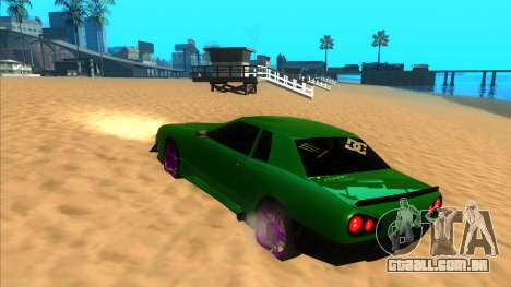 Elegy 1.3 by Mr.Phantom para GTA San Andreas traseira esquerda vista