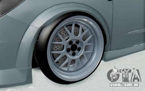 Opel Astra para GTA San Andreas vista traseira