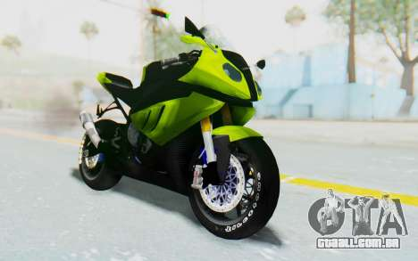 BMW S1000RR HP4 Modification para GTA San Andreas