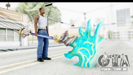 Orochi Weapon para GTA San Andreas terceira tela
