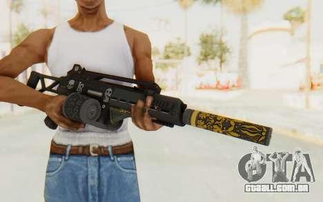 GTA 5 DLC Finance and Felony - Special Carbine para GTA San Andreas terceira tela