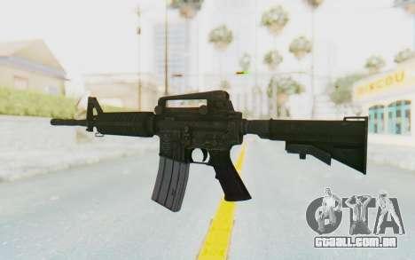 Assault M4A1 para GTA San Andreas segunda tela