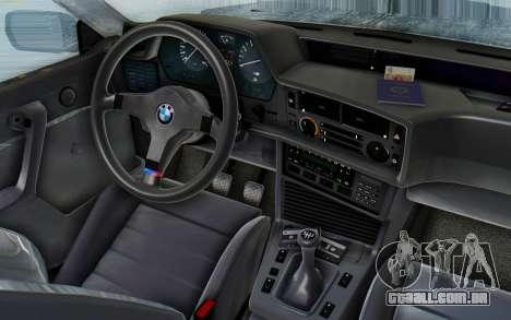 BMW M635 CSi (E24) 1984 HQLM PJ3 para GTA San Andreas vista traseira