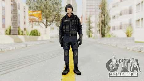 Dead Rising 2 Chucky Swat Outfit para GTA San Andreas segunda tela