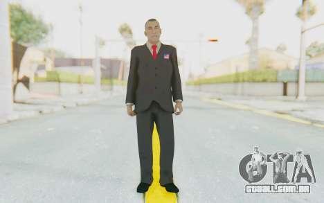 Barack Obama Skin para GTA San Andreas segunda tela