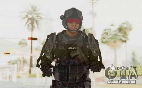 CoD Advanced Warfare ATLAS Soldier 2 para GTA San Andreas