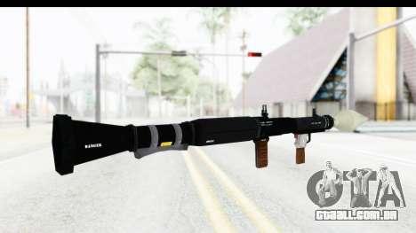 GTA 5 Shrewsbury Rocketlauncher para GTA San Andreas segunda tela