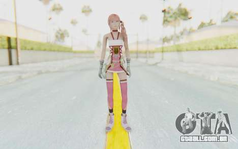 FinalFantasy XIII-2 - Serah para GTA San Andreas segunda tela