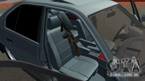 BMW 535i Gang para GTA San Andreas vista direita