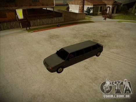 VAZ 2114 Devastadora HQ model para GTA San Andreas vista interior