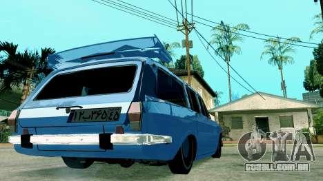 IKCO Paykan StiTion Sport para GTA San Andreas traseira esquerda vista