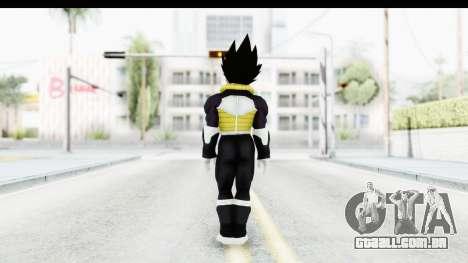 Dragon Ball Xenoverse Vegeta Timebreaker Fix para GTA San Andreas terceira tela