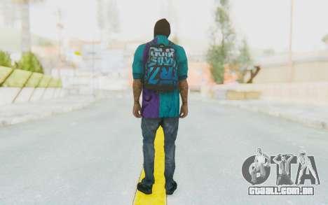 Robbery Skin para GTA San Andreas terceira tela