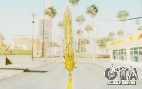 Blade of Olympus para GTA San Andreas segunda tela