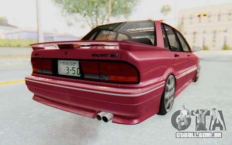 Mitsubishi Galant VR4 1992 para GTA San Andreas esquerda vista