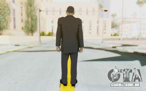 Barack Obama Skin para GTA San Andreas terceira tela