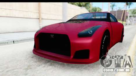 Nissan GT-R R35 Top Speed para GTA San Andreas