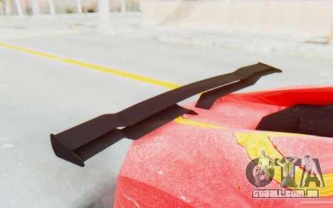 GTA 5 Pegassi Reaper IVF para GTA San Andreas vista traseira